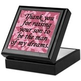 Mother of the Groom gift Keepsake Box