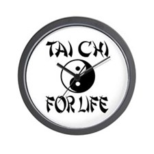 Tai Chi Wall Clock