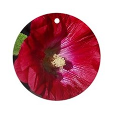 HOLLYHOCK Ornament (Round)