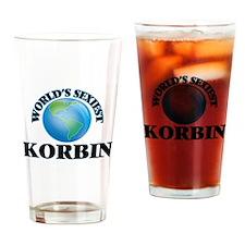 World's Sexiest Korbin Drinking Glass