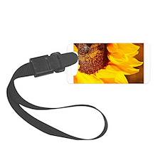 Lone Sunflower Luggage Tag
