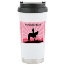 Pink Cowgirl Travel Mug