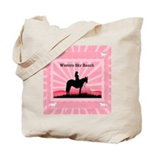Pink Cowgirl Tote Bag