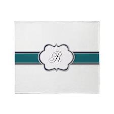 Elegant Monogram by LH Throw Blanket