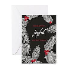 Joyful Holiday Season Greeting Cards