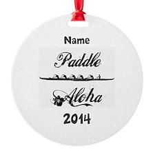 PaddleAloha-Kane (personalized) Ornament