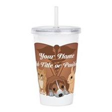 Personalized Veterinary Acrylic Double-wall Tumble