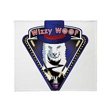 Wizzy wooF Throw Blanket