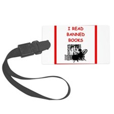 banned books Luggage Tag