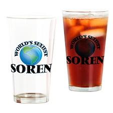 World's Sexiest Soren Drinking Glass