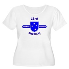 23RD Infantry Plus Size T-Shirt