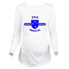 23RD Infantry Long Sleeve Maternity T-Shirt