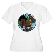 Black Haired Fish T-Shirt