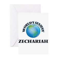World's Sexiest Zechariah Greeting Cards