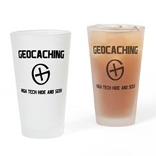 Geocaching hight tech hide and seek T-shirts Drink