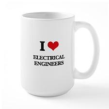 I love Electrical Engineers Mugs