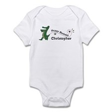 Happy Birthday Christopher (g Infant Bodysuit