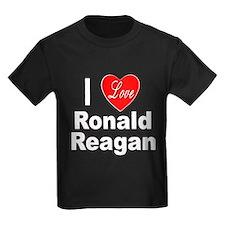 I Love Ronald Reagan (Front) T