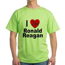 I Love Ronald Reagan T-Shirt