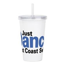 Just Dance West Coast Acrylic Double-wall Tumbler