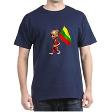 Lithuania Girl T-Shirt