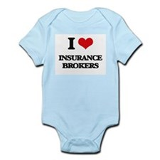 I love Insurance Brokers Body Suit