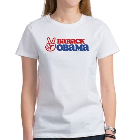Barack Obama for Peace Women's T-Shirt