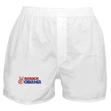 Barack Obama for Peace Boxer Shorts