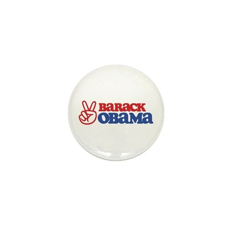 Barack Obama for Peace Mini Button