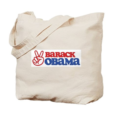 Barack Obama for Peace Tote Bag