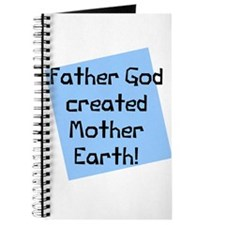 Father god mother earth Journal