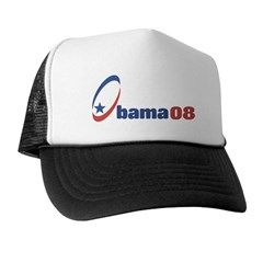 Obama 08 (circle-star) Trucker Hat