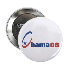 "Obama 08 (circle-star) 2.25"" Button (10 pack)"