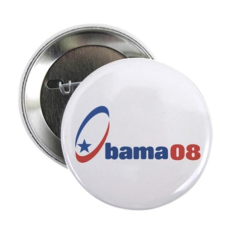 Obama 08 (circle-star) Button