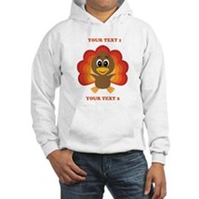 Personalized Baby Turkey Hoodie