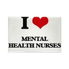 I love Mental Health Nurses Magnets