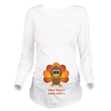 Personalized Baby Tu Long Sleeve Maternity T-Shirt