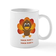Personalized Baby Turkey Mug