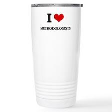 I love Methodologists Travel Mug