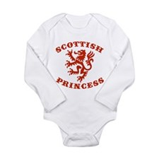 Cute Scottish princess Long Sleeve Infant Bodysuit