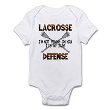 Lacrosse Defense Infant Bodysuit