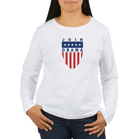 Join Obama Women's Long Sleeve T-Shirt
