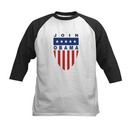 Join Obama Kids Baseball Jersey