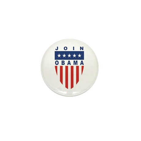 Join Obama Mini Button