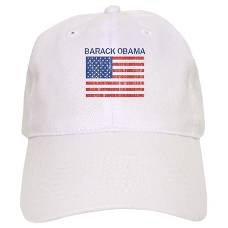 Barack Obama (Flag-Vintage) Cap