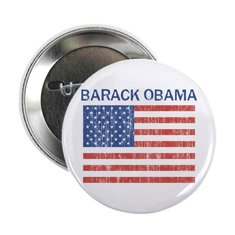 "Barack Obama (Flag-Vintage) 2.25"" Button (10 pack)"
