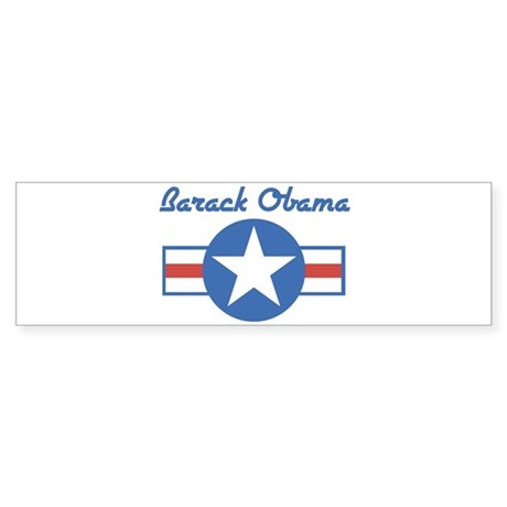 Barack Obama (star) Bumper Sticker
