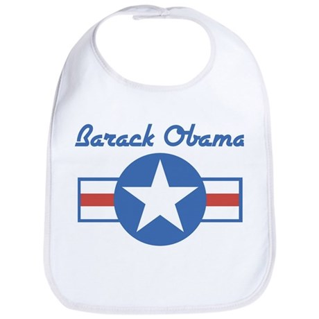 Barack Obama (star) Bib
