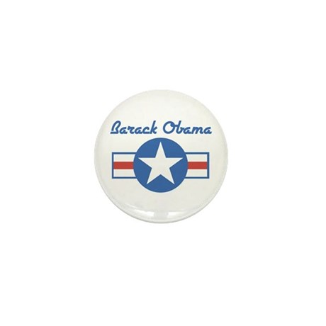 Barack Obama (star) Mini Button (100 pack)