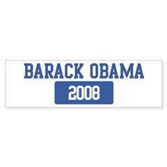 Barack Obama 2008 (blue) Bumper Sticker